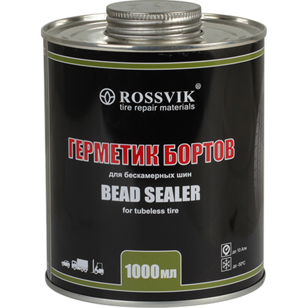 Герметик борта 1000 гр ROSSVIK (с кистью)