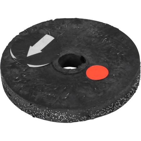 S897 Щетка обрезиненная для удаления резины вокруг стального корда TECH Ø=50 мм