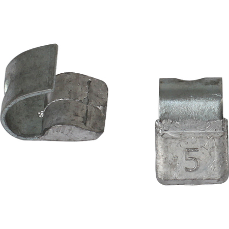 Грузик со скобой свинец на Лит.диск   5гр (0305) уп.100 шт
