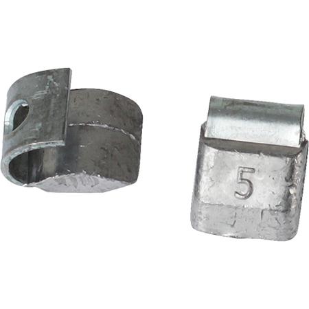 Грузик со скобой свинец на Штамп.диск 5 гр (в уп. 200 шт) (0205)